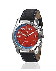 Yepme Nomon Mens Watch - Red/Black -- YPMWATCH1531