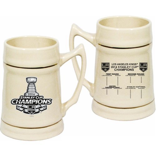 Los Angeles Kings 2014 Stanley Cup Champions Collectible 24Oz Stein