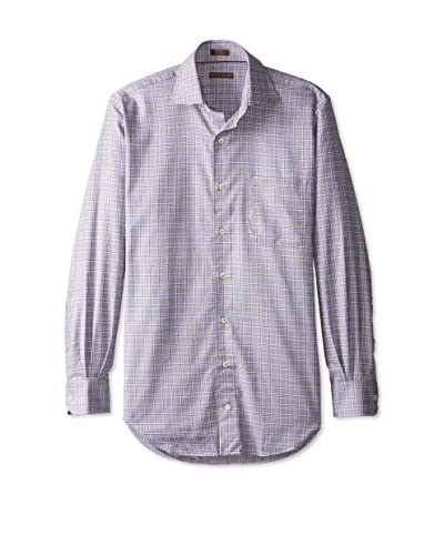 Peter Millar Men's Plaid Sport Shirt