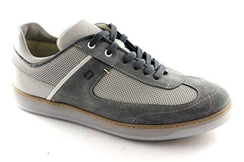 LION 20902 grigio scarpe uomo sportive casual sottopiede memory 45