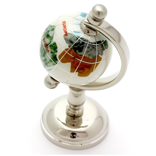 Healthy natural stone Globes think wind power stone water imported Homewares lucky amulet longevity