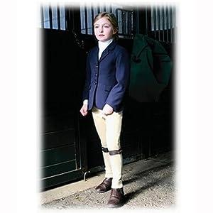 TuffRider Girl's Starter Show Coat, Black, 10