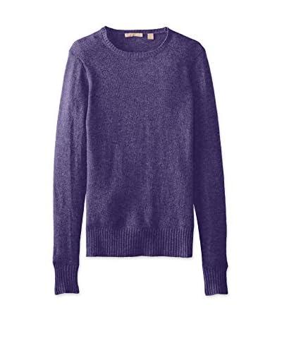 Cashmere Addiction Women's Crew Neck Sweater