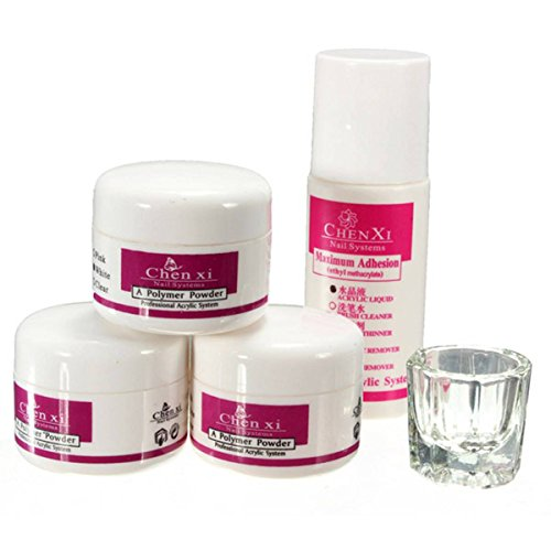 dancingnail-5tlg-acryl-pulver-acrylpuder-set-nagelstudio-3-farben-fluessig-nail-art-puder-liquid-kit