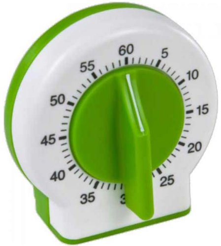 Curious Chef Kids Kitchen Timer, Green (Chef Timer compare prices)