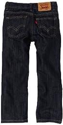Levi's Little Boys' 511 Slim Fit Jean, Bacano, 7