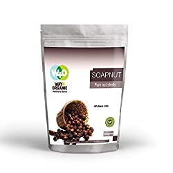 Pure Organic Soap Nut Shells- 250 grams