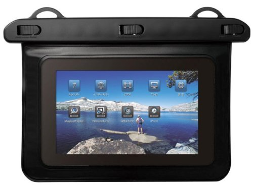 I-O DATA IPX8準拠 7インチタブレット・ポータブルゲーム用防水ケース IS-WPC/M