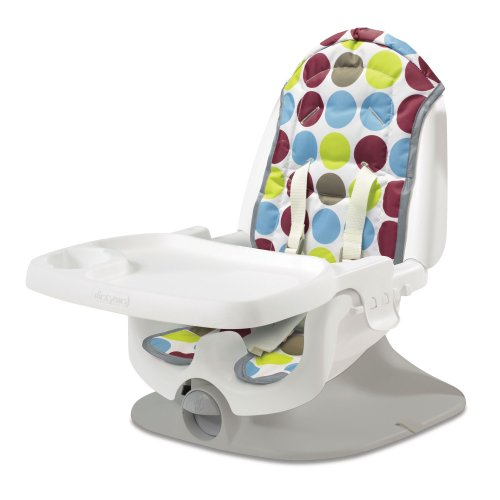 The First Years Deluxe Reclining Feeding Seat, Dot Print front-1009066