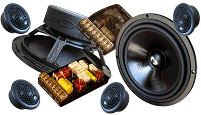 "Hd-62As - Cdt Audio 6.5"" Hd Anniversary Series Component System W/ Imaging Tweeters"