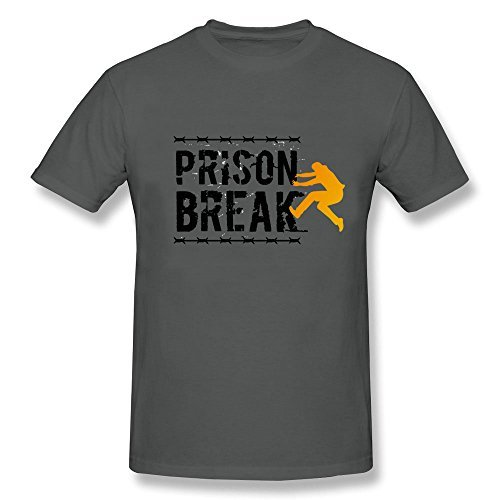 Meyee Nadigt Men's prison break logo Short Sleeve T-shirt