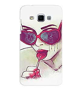 Samsung J3 Multicolor Stylish Women Mobile Cover