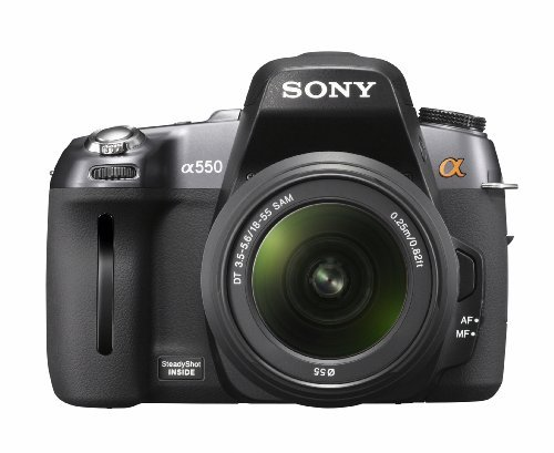 Sony Alpha DSLR-A550 (with 18-55mm Lens) is the Best Sony Digital Camera for Travel Photos