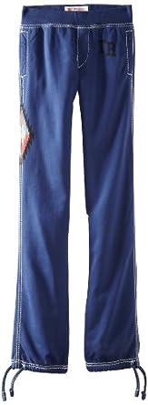 True Religion Little Boys' Native Fleece Sweatpant, Indigo, Large