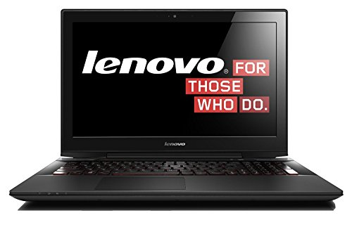 Lenovo y5070 156 inch fhd gaming laptop black intel core i7 4710hq 25 ghz 16 gb ram 256 ssd camera windows 81ghz