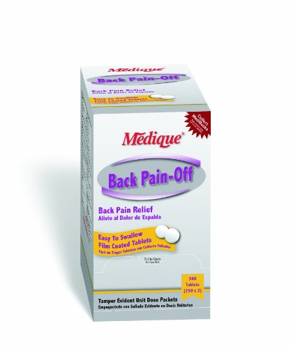 Medique 07313 Back Pain-Off Back Pain Relief Tablets 500-PackB0006GBEVW