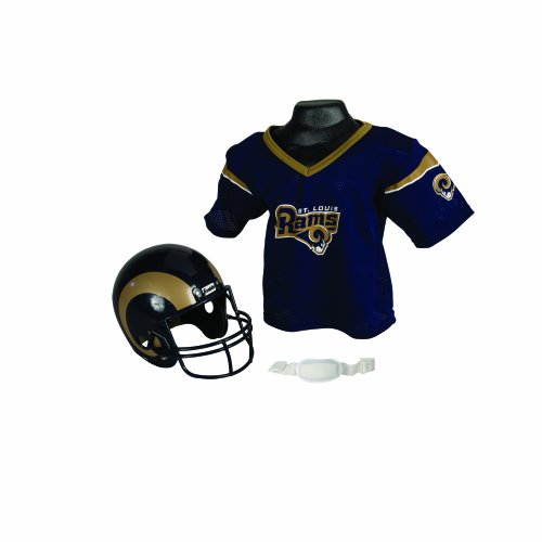NFL St. Louis Rams Replica Youth Helmet and Jersey Set at Amazon.com