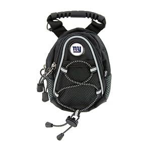 NFL New York Giants Black Mini Day Pack