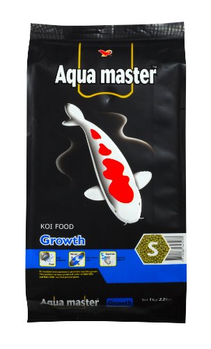 Aqua Master Growth Fish Food, 2.2-Pound/Bag, Small (Koi Food Growth compare prices)
