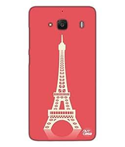 Designer Xiaomi Redmi 2 Case Cover Nutcase - Beau Eiffel Tower