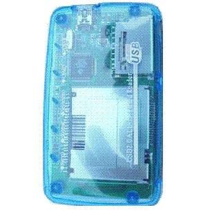 All-in-1 Black USB 2.0 Memory Card Reader