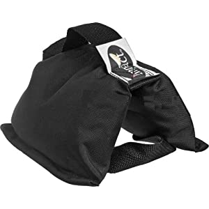 Impact Saddle Sandbag - 5 lb (Black Cordura)