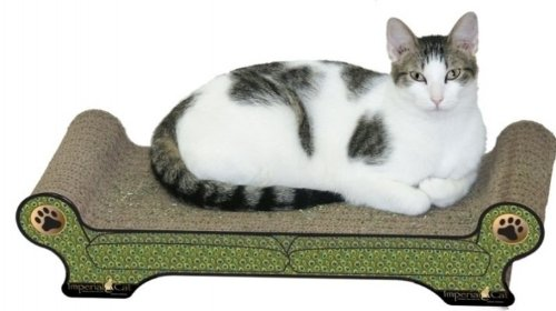 Large Regular Sofa Cat Scratcher Style: Peacock