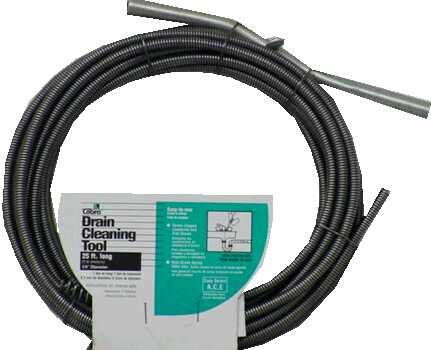 Cobra Products 20250 3/8-Inch-by-25-Foot Drain Auger