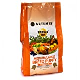 ARTEMIS 133008 Fresh Mix Medium Large Breed Puppy Food, 30-Pound