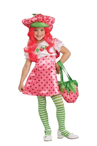 Rubies Costume Strawberry Shortcake Deluxe Costume, Toddler