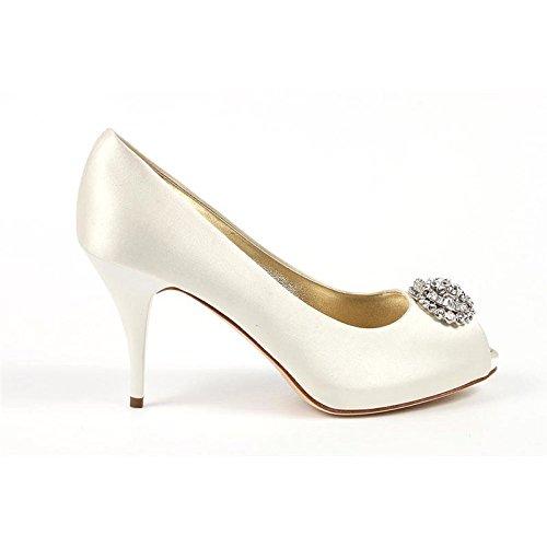 Decollete Donna Giuseppe Zanotti E16072 - Colore - Bianco, Taglia scarpa - 37