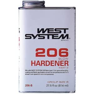 West System 206 Slow Epoxy Hardener (.86-Quart)