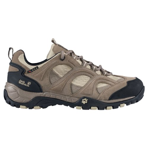 JACK WOLFSKIN Ladies Little Wing Hiking Shoes, Brown, UK5.5
