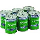 (6) bottles Lawn-Boy Lawn Boy 89932 4 oz 2 Cycle Engine Oil