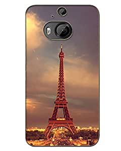 Htc One M9 Plus Back Cover Designer Hard Case Printed Cover