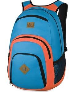 Dakine CAMPUS LG Blau-Orange 8130057-3650 Daypack Tagesrucksack Rucksack Laptop 15 Zoll Schulrucksack Laptoprucksack 33 L