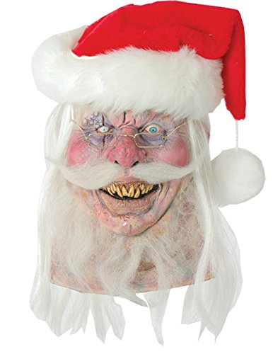 Santa Claws Evil Undead Zombie Latex Adult Halloween Costume Mask