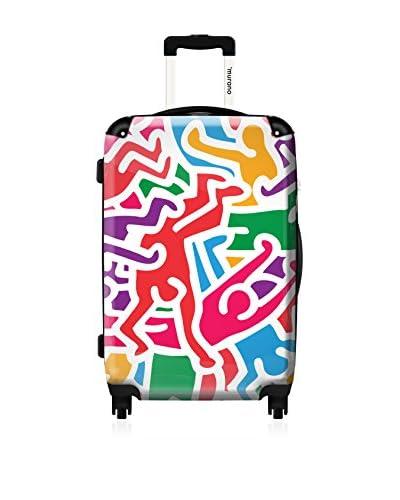 ikase Keith Haring 24 Hardcase, Multicolor