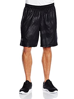 Under Armour Short Entrenamiento Fitness - Shorts 8In Raid Novelty (Negro)