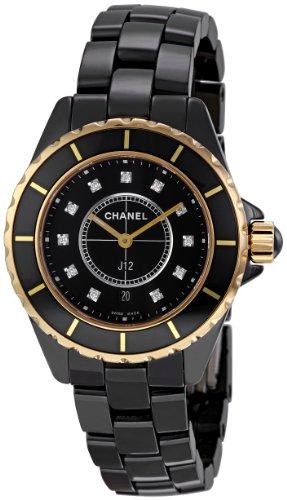 Chanel Men's H2543 J12 Diamond Dial Watch
