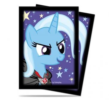 My Little Pony Deck Protector Sleeves - Trixie 65ct - 1