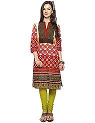 Rangmanch By Pantaloons Women's Cotton Anarkali Kurta