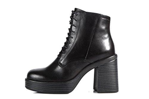 Vagabond Shoemakers Tyra Boots Black - Stivaletti Neri Stringati