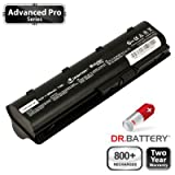 Dr. Battery Advanced Pro Series Laptop / Notebook Battery Replacement for Compaq Presario CQ56-206SA (6600 mAh) 800+ Charge Cycles. 2 Year Warranty