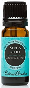 Stress Relief Synergy Blend Essential Oil- 10 ml (Bergamot, Patchouli, Blood Orange, Ylang Ylang…