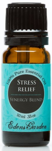 Stress Relief Synergy Blend Essential Oil- 10 ml (Bergamot, Patchouli, Blood Orange, Ylang Ylang & Grapefruit)