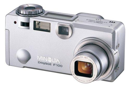 Minolta Dimage F100 4MP Digital Camera w/ 3x Optical Zoom