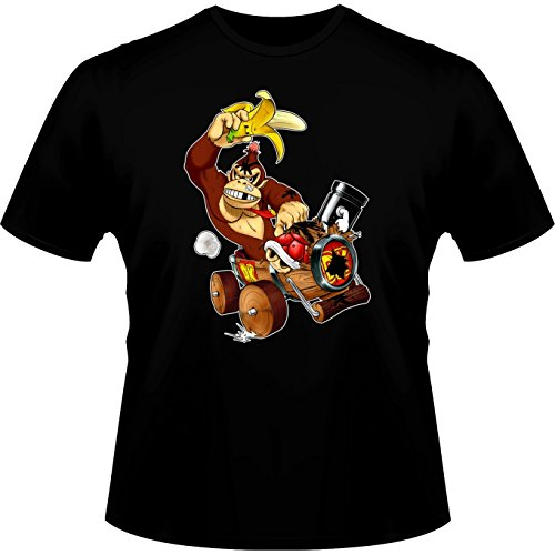 T-Shirt Donkey Kong from Mario Kart Parody -