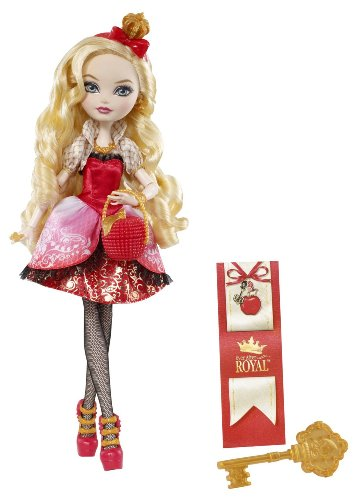 Ever After High BFX23 - Reale, Bambola Apple White, Italiana