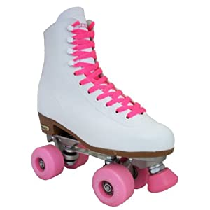Chicago Outdoor Skates - Chicago Starter White - Pink Outdoor Wheels
